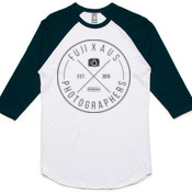 Fuji X Aus (Black Logo) - AS COLOUR Adult Raglan Tee