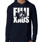 Fuji X Aus v2 (White Logo) - ANVIL Adult Lightweight Hooded Tee