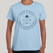 Fuji X Aus (Black Logo) - GILDAN Womens Ultra Cotton Tee