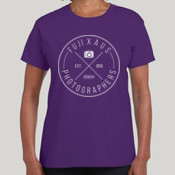 Fuji X Aus (White Logo) - GILDAN Womens Ultra Cotton Tee